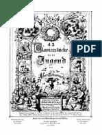 Schuman op 68 Album para la juventud