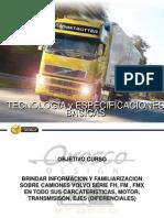 Tecnología y Especificaciones Básicas Camion Volvo