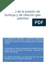 Calculo de la Presion de Burbuja