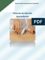 Protocolo de Atención Lipocavitación