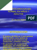 1d-Electrocardiograma Normal en Niños y Adultos