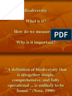 Biodiversity Introduction