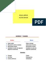 acidobase, Titulaciones, Teoria