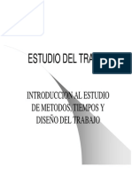 Tema 1 - Introducción Al Estudio de Métodos, Tiempos y Diseño Del Trabajo (1era Parte) [Modo de Compatibilidad]