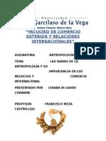 ANTROPOLOGIA en el comercio internacional
