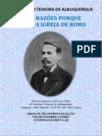 Antonio Teixeira de Albuquerque Porque Deixei a Igreja de Roma (1)