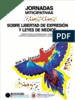 Libro II Jornadas Sobre Libertad de Expresión y Leyes de Medios