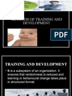 Methods of Training and Development 1234885872910404 3