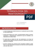 02.- Terminología Del Mantenimiento