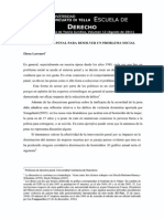 N° 14 La Intervención Penal Para Resolver Un Problema Social Por Elena Larrauri
