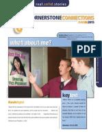 2nd Quarter 2015 Lesson 10 CornerstoneConnections