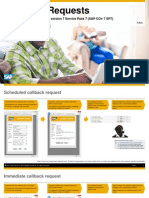 SAP Contact Center 7 - Callback Functionality Overview