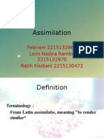 English Phonetic and Phonology-Assimilation