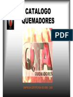 Catalogo General Quemadores QTA
