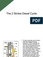 the 2 stroke diesel cycle