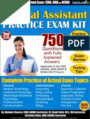 graphic regarding Cma Practice Test Printable named Health care-Assistant-Prepare-Test-750-2015 (1).pdf