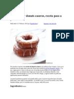Donuts casera