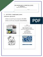 2º Básico -1- guía de lenguaje y comunicación para segundos básicos