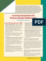 Building Blocks Learning Trajectories