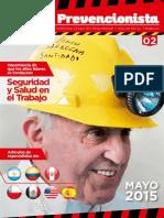 Revista El Prevencionista 2da Edición APDR 2015