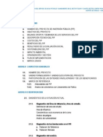 Perfil de Proyecto - Taraco