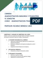 1- Introduccion a La Adm Financiera
