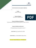 Reestructuración del sistema de acciones preventivas y acciones correctivas