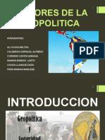 Factores de La Geopolitica