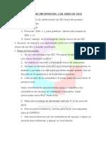 Acta Pleno Informativo 2 de Junio