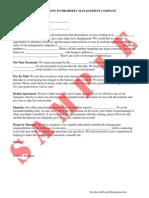 Introduction Property Management