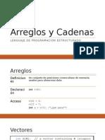 3 - Arreglos y Cadenas