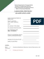 Class R Pile Audit.doc