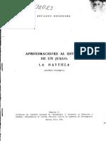 Aproximaciones Al Estudio de Un Juego, La Rayuela, Análisis Etnológico, 1963