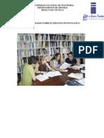 Generalidades Sobre El Proceso Investigativos Sobre El Proceso Investigativo