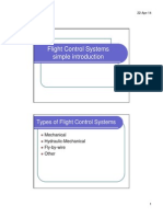Flight Control System Simple Introduction