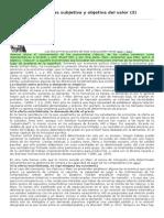 Competencia y Teorías Subjetiva y Objetiva Del Valor