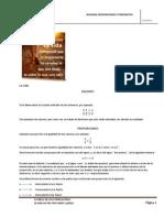 Artimética - Razones, Proporciones y Porcientos