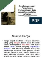 Perbandingan Data Perusahaan Dengan Relative Valuation_MEP IX