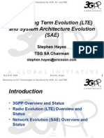 3GPP LTE and SAE.ppt