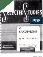 Saxophone Voxman Studies
