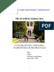 Documentatie Proiect Atestat - Hazarde Naturale