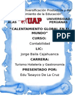 Calentamiento Global Monografia