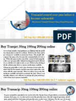 Buy Tramadol(Tramjet-Tramacip) 200, 100, 50 MG Online