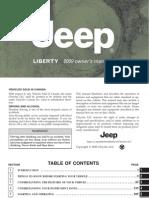 2009 Liberty 1st, Manual, de uso
