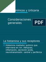 Antihistamínicos y Urticaria