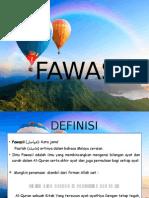 FAWASIL DAN RESM AL-QUR'AN