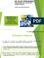 Metodologia Caracteriticas de La Investigacion Cual Cual y Mixta