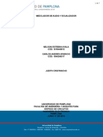 Trabajo Final - Sintesis de Circuitos Ecualizador