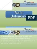 ACWA Pipe Resin Handling