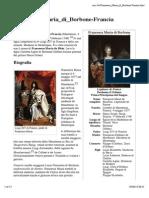 Francesca Maria Di Borbone-Francia